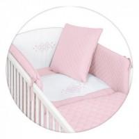 Постельный комплект Ceba Baby Caro розовый
