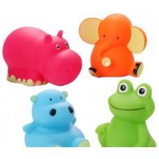 """Игрушки для ванной """"Животные средние"""" 4 шт. Babyono -867"""