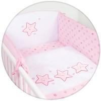 Комплект постельного белья Ceba Baby CARO 5 предметов с вышивкой
