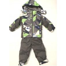 Детский зимний комбинезон, куртка + штаны 86-92 см