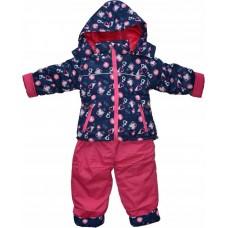 Детский зимний комбинезон, куртка + штаны 104-110 см