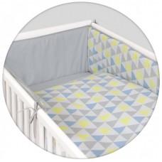 Комплект постельного белья Ceba 3 шт. Хлопок с принтом Eco