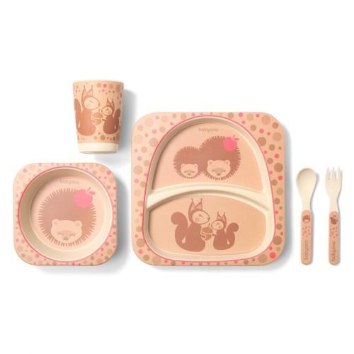 Бамбуковая посуда для детей HEDGEHUG BAMBOO
