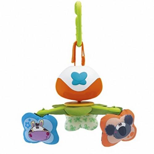Мобиль на кроватку Танцующие животные 3 в 1 Chicco