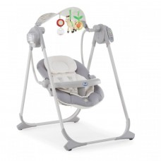 Кресло качалка CHICCO POLLY SWING UP (SILVER)