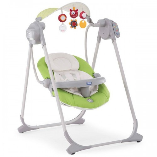 Кресло качалка  CHICCO POLLY SWING UP (GREEN)