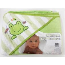 Полотенце с капюшоном для купания детей с термопечатью (100х100см) Duetbaby