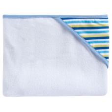 Полотенце с капюшоном (голубая полоска) 80*95 см, Canpol babies