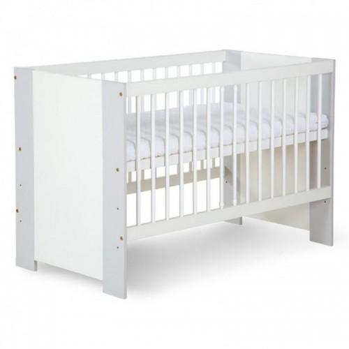 Детская кроватка Klups Safari De Luxe бело-серый