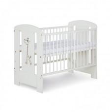 Детская кроватка Safari Белый жираф