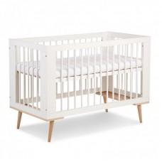 Детская кроватка Klups Sofie белая