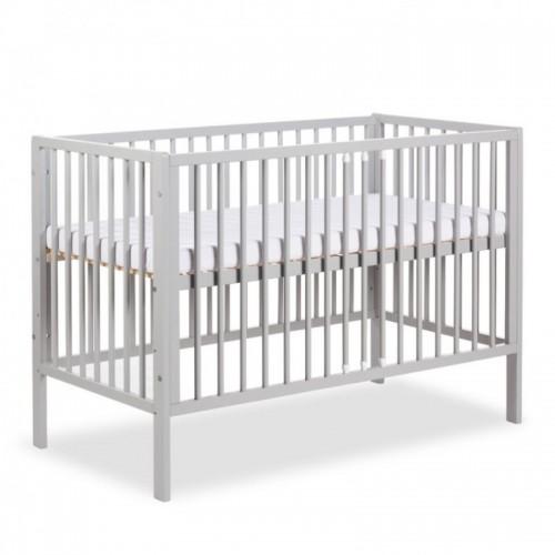 Детская кроватка Klups Radek X бело-серый