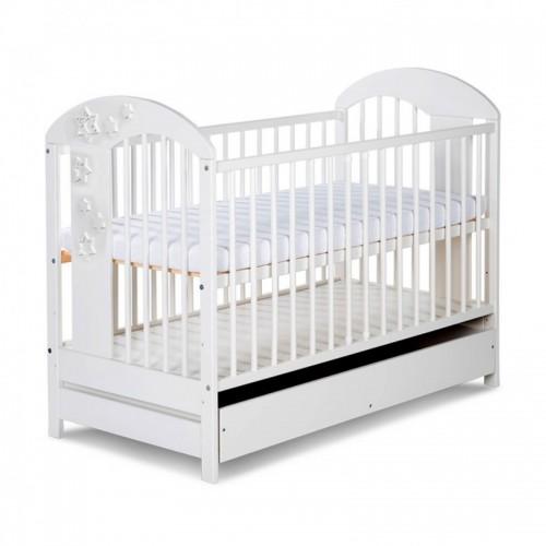 Детская кроватка с выдвижным ящиком Klup Radek VII белый