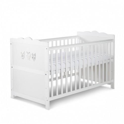 Детская кроватка Klupś Marsell white