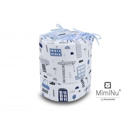 Мягкий Бортик-охранка для детской кроватки MimiNu