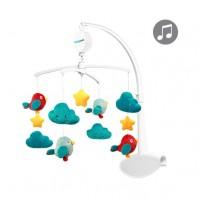 Карусель для кроватки с мелодией CLOUDS&BIRDS