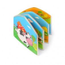 Babyono Книжка для ванной Ферма с пищалкой