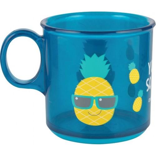 Детская чашка с антискользящим покрытием