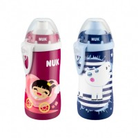 Бутылочка Nuk Flexi Cup Mug с соломой