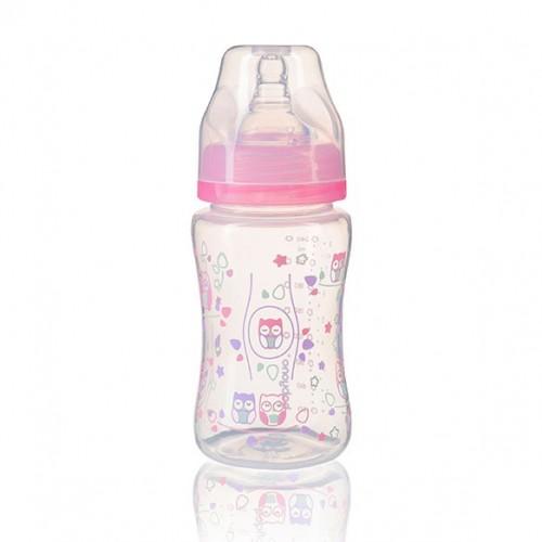 Бутылка антиколиковая с широким горлышком 240мл