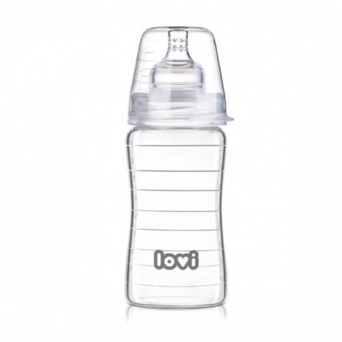 LOVI Стеклянная бутылка 250 мл Diamond Glass