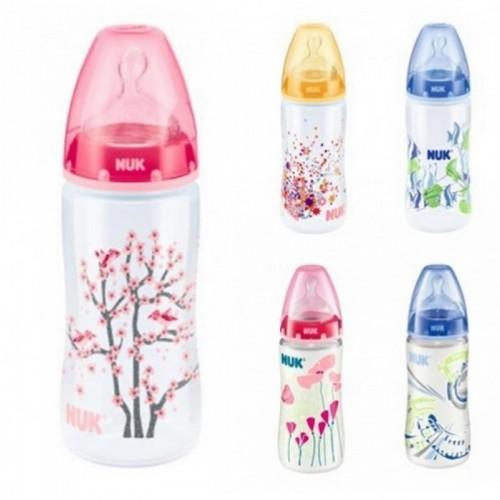 Бутылка Nuk First Choice PP 300 мл + силиконовая соска 1 М