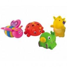 Игрушки в ванну Зверьки 4 шт.