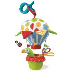 Игрушка мягкая музыкальная YOOKIDOO Попугай на воздушном шаре