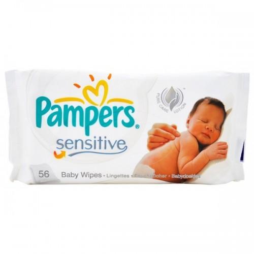 Салфетки PAMPERS Sensitive без запаха