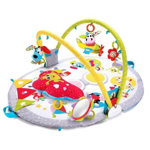 Развивающий коврик-кресло Yookidoo