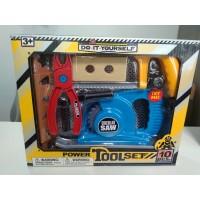 Набор игрушечных инструментов Power Tool Set