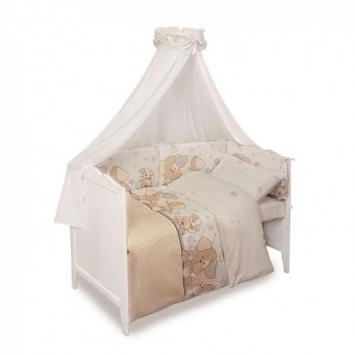 Комплект постели  BabyMatex SWEET MIX LUKI BRAUN