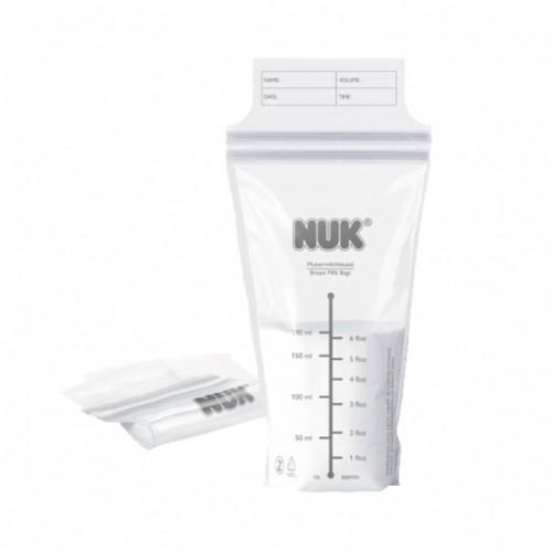 Nuk Мешочек для грудного молока 25 штук