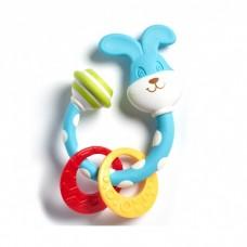 Прорезыватель-погремушка с кроликом  Tiny Love Tiny Smarts