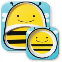 Набор тарелок Skip Hop Zoo Пчелка