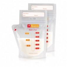 Многоразовые мешки для хранения грудного молока Ameda