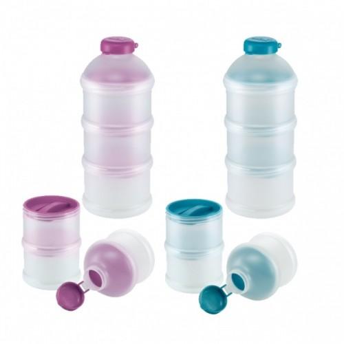 Nuk Набор из трех контейнеров для сухого молока