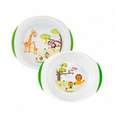 Chicco Набор из двух тарелок