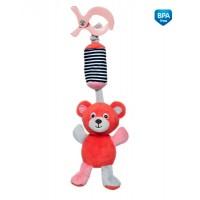 Плюшевая игрушка с колокольчиком Canpol Babies