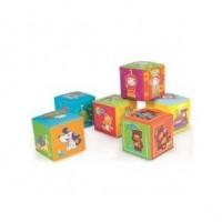 Развивающая игрушка-кубик мягкий Canpol Babies