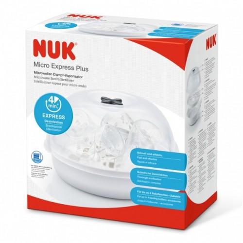 Nuk Micro Express Plus Микроволновый паровой стерилизатор
