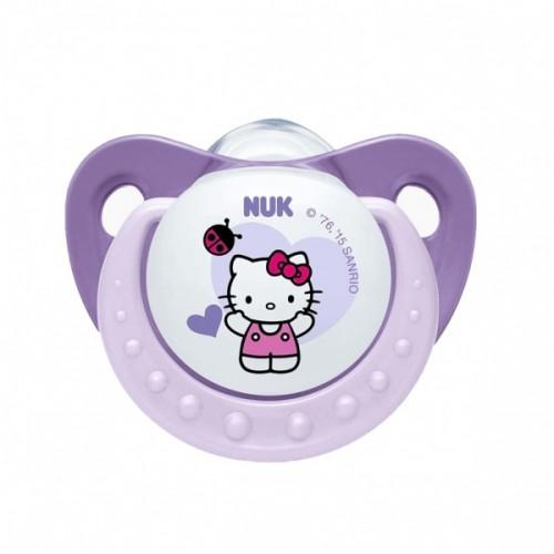 Силиконовая пустышка Nuk Hello Kitty