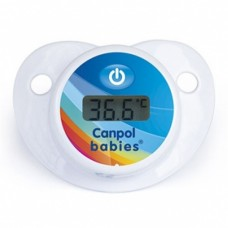 Canpol Pacifier прорезыватель с термометром