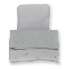 Одеяло и подушка для коляску  Amy Pure Duo