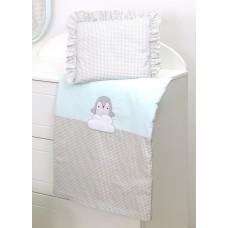 Постельное белье для детской коляски, наполненной Amy White Penguins