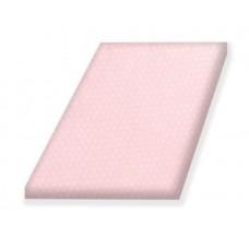 Простынь на резинке  Amy для детской кроватки 120 × 60 Monocolor Rosette