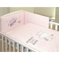 Детское постельное белье Amy из 2-х частей 135 × 100 Hero Grey
