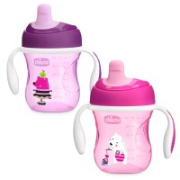 Chicco Полу-мягкий носик Spill Spill Free Baby Cup