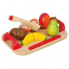 """Игровой набор """"Доска детская для нарезки с фруктами"""" Eichhorn"""
