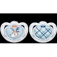 Детская соска Nuk 0-6мес